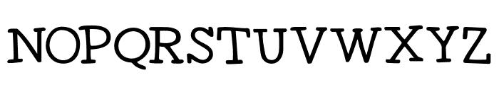 DK Homeward Bound II Regular Font UPPERCASE