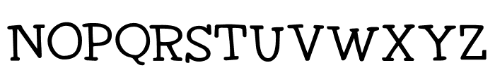 DK Homeward Bound II Regular Font LOWERCASE