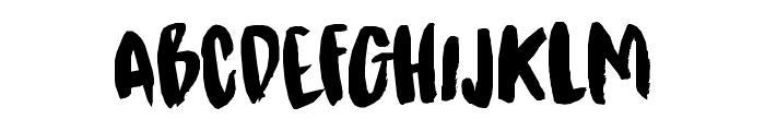 DK Kitsune Tail Regular Font LOWERCASE