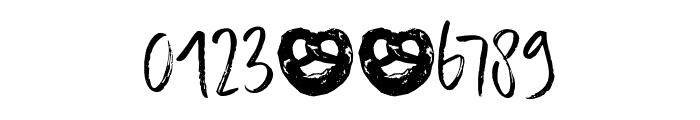 DK Konditorei Regular Font OTHER CHARS