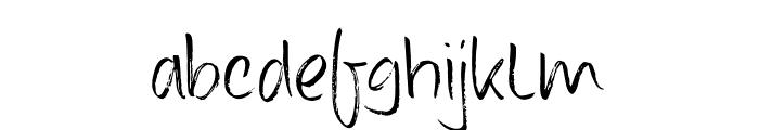 DK Konditorei Regular Font LOWERCASE