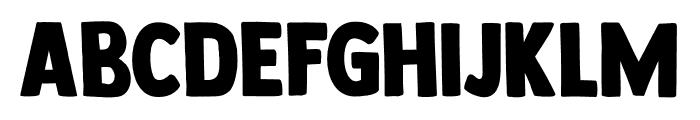 DK Longreach Regular Font UPPERCASE