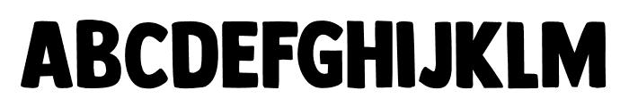 DK Longreach Regular Font LOWERCASE