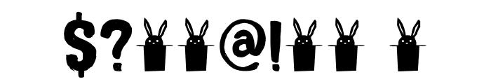 DK Magical Brush Regular Font OTHER CHARS