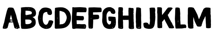 DK Magical Brush Regular Font LOWERCASE