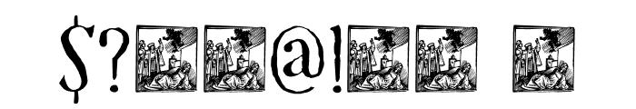 DK Mariken Regular Font OTHER CHARS