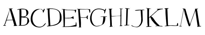 DK Mysterious Regular Font LOWERCASE