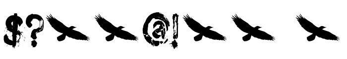 DK Nightbird Font OTHER CHARS