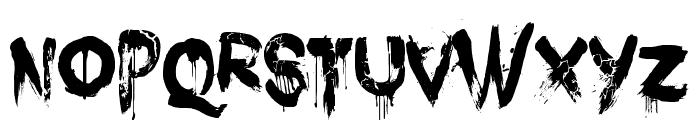 DK Nightbird Font UPPERCASE