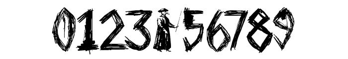 DK Plague Master Font OTHER CHARS