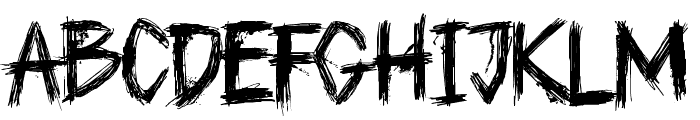 DK Plague Master Font LOWERCASE