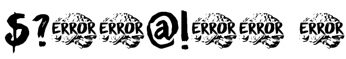 DK Sensory Overload Font OTHER CHARS