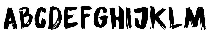 DK Sensory Overload Font LOWERCASE