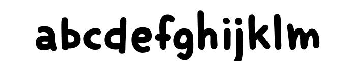 DK Smiling Cat Font LOWERCASE