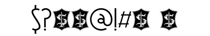 DK Soerabaja Regular Font OTHER CHARS