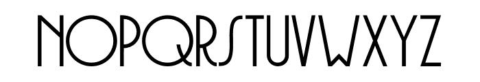 DK Soerabaja Regular Font UPPERCASE