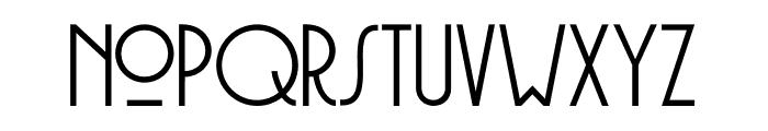 DK Soerabaja Regular Font LOWERCASE