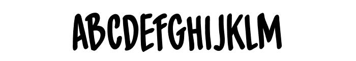 DK Spiced Pumpkin Regular Font LOWERCASE