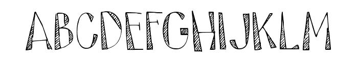 DK Tartufo Regular Font UPPERCASE