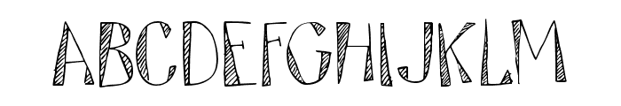 DK Tartufo Regular Font LOWERCASE