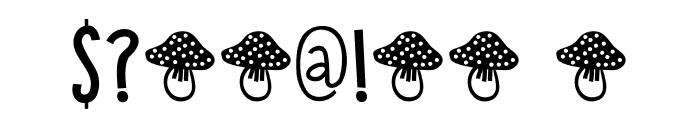 DK Toadstool Regular Font OTHER CHARS