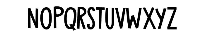 DK Toadstool Regular Font UPPERCASE