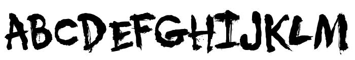 DK Umbilical Noose Font UPPERCASE