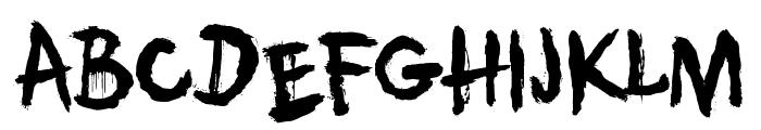 DK Umbilical Noose Font LOWERCASE