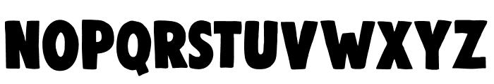 DK Woolwich Regular Font UPPERCASE