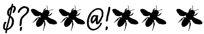 DKAbelia Font OTHER CHARS