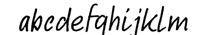 DKAbelia Font LOWERCASE