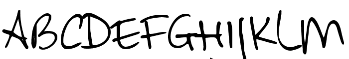 DKAllezHop Font UPPERCASE