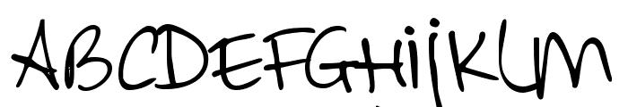 DKAllezHop Font LOWERCASE