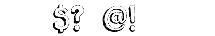 DKBergelmir Font OTHER CHARS