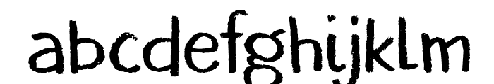 DKBorrowdale Font LOWERCASE
