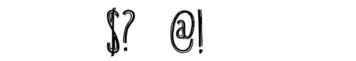 DKBreakfastBurrito Font OTHER CHARS