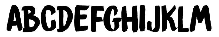 DKBrushCrush Font LOWERCASE
