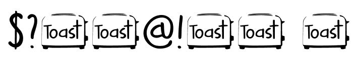 DKButteredToast Font OTHER CHARS