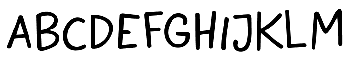 DKButteredToast Font UPPERCASE