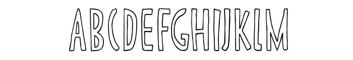 DKCannedWhale Font LOWERCASE