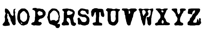 DKCarbonara Font UPPERCASE