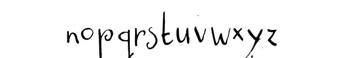 DKCastanea Font LOWERCASE
