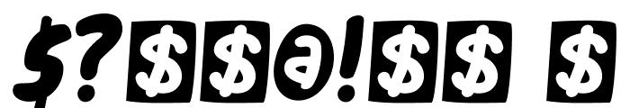 DKCheckout Font OTHER CHARS