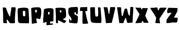 DKChunkyChicken Font UPPERCASE