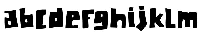 DKChunkyChicken Font LOWERCASE