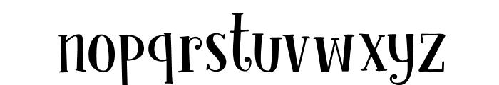 DKClochard Font LOWERCASE