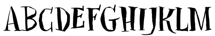 DKClosetSkeleton Font UPPERCASE