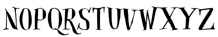 DKClosetSkeleton Font LOWERCASE