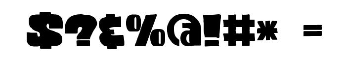 DKCodswallop Font OTHER CHARS