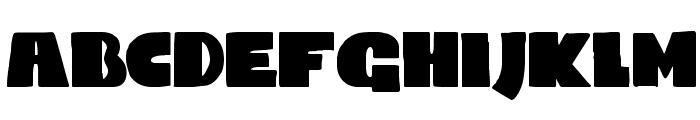 DKCodswallop Font LOWERCASE